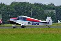 G-BWMB @ EGBP - Jodel D.119 [77-1492] Kemble~G 01/07/2005