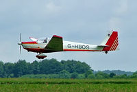 G-HBOS @ EGBP - Scheibe SF-25C Rotax-Falke [44574] Kemble~G 01/07/2005