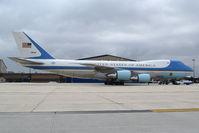 92-9000 @ KBOI - Parked on Idaho Air Guard ramp. - by Gerald Howard