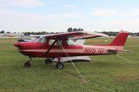 N11570 @ KOSH - Cessna 150L - by Mark Pasqualino