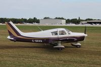 C-GDXQ @ KOSH - Piper PA-28-140 - by Mark Pasqualino
