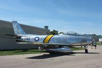 51-2740 @ KOSH - North American F-86E