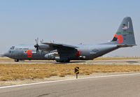 01-1461 @ KBOI - Taxing to RWY 10L. 146th Air Wing, CA ANG equipped with MAFFS. - by Gerald Howard
