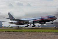 N766AN @ EGLL - Landing