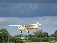 G-BOHJ @ X3TB - Landing at Tibenham - by Keith Sowter