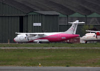 M-IBAI @ LFBF - New operator for this ATR72-500 ex. Kingfisher Airlines : Air Carnival - by Shunn311