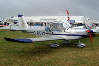 G-CDIY @ EGBP - Evektor EV-97A Eurostar [PFA 315-14345] Kemble~G 02/07/2005
