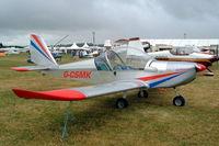 G-CSMK @ EGBP - Evektor EV-97 Eurostar [PFA 315-13813] Kemble~G 02/07/2005