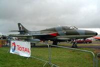 G-BXFI @ EGBP - Hawker Hunter T.7 [41H/670818] (Delta-Jets) Kemble~G 02/07/2005