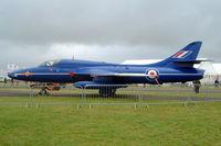 G-BXKF @ EGBP - Hawker Hunter T.7 [HABL003314] (Delta Jets) Kemble~G 02/07/2005