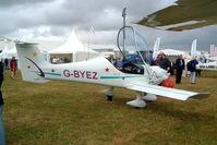 G-BYEZ @ EGBP - Dyn'Aero MCR-01 Banbi [PFA 301B-13185] Kemble~G 02/07/2005