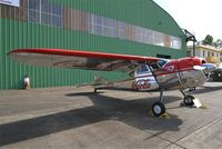 F-AYTX @ LFOT - Cessna 195, Static display, Tours-St Symphorien Air Base 705 (LFOT-TUF) Open day 2015 - by Yves-Q