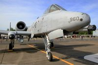 81-0960 @ LFOT - 81-0960 - USAF Fairchild Republic A-10C Thunderbolt II, Static display, Tours Air Base 705 (LFOT-TUF) Open day 2015 - by Yves-Q