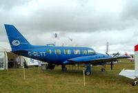 G-GLTT @ EGBP - Piper PA-31-350 Navajo Chieftain [31-8542004] (Airtime Aviation Ltd) Kemble~G 02/07/2005