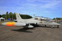 MM55077 @ LFOT - Italian Air Force Aermacchi MB-339CD, Static display, Tours-St Symphorien Air Base 705 (LFOT-TUF) Open day 2015 - by Yves-Q