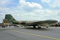 1233 @ EGVI - English Electric Canberra B.82 [71101] (Venezuelan Air Force) RAF Greenham Common~G 24/06/1979. From a slide.