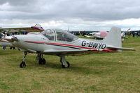 G-BWYO @ EGBP - Sequoia F.8L Falco [PFA 100-10920] Kemble~G 02/07/2005