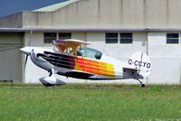 G-CCYO @ EGBP - Christen Eagle II [HAYNER 0001] Kemble~G 02/07/2005