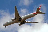 N724AN @ EGLL - Boeing 777-323ER [31548] (American Airlines) Home~G 05/06/2014 . On approach 27R.