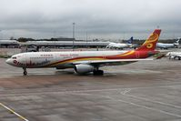 B-8287 @ EGCC - Hainan Airbus on the tarmac, minutes before moving towards T/O en-route to China. - by ikeharel