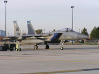 86-0155 @ KBOI - Parked on the Idaho Air Guard ramp. 366th Fighter Wing, Mountain Home AFB, Idaho - by Gerald Howard