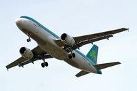 EI-DEE @ EGLL - Airbus A320-214 [2250] (Aer Lingus) Home~G 05/06/2010. On approach 27R.