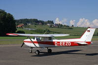 D-EEZD @ LSPL - A visitor to the Piper-Meeting - by sparrow9