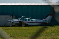 C-FJBD @ CYYE - Parked next to Villars Air hangar. - by Remi Farvacque