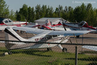 C-FQRX @ CYYE - Parked in private hangar area. - by Remi Farvacque