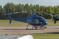 C-FSPR @ CYYE - Parked in front of Qwest Helicopters hangar. - by Remi Farvacque