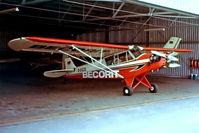 D-EGZG @ EDLM - Piper L-4H Grasshopper [11295] Marl-Loemuehle~D 13/05/1978. From a slide.