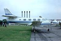 TU-TJQ @ EDDK - Swearingen SA.226T Merlin IIIA [T-288] Cologne-Koln Bonn~D 20/05/1982. From a slide.