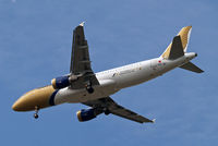 A9C-AQ @ EGLL - Airbus A320-214 [5175] (Gulf Air) Home~G 09/06/2014. On approach 27R. - by Ray Barber