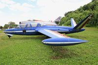 493 - Fouga CM-170R Magister, Preserved at Savigny-Les Beaune Museum - by Yves-Q