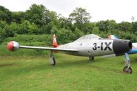 110885 - Republic F-84G Thunderjet, Preserved at Savigny-Les Beaune Museum - by Yves-Q