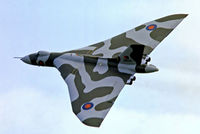 XM594 @ EGKB - Avro Vulcan B.2 [SET58] (Royal Air Force) Biggin Hill~G 14/09/1974. From a slide.