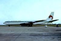 VP-BDF @ EIDW - Boeing 707-321 [18085] (Ex Bahamas World Airlines) Dublin Int'l~EI 16/04/1979. From a slide.