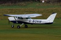 G-BONW @ EGCB - At City Airport Manchester (Barton) - by Guitarist