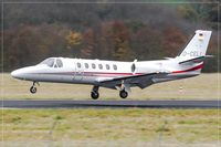D-CELI @ EDDR - Cessna 550 Citation Bravo - by Jerzy Maciaszek