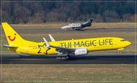 D-ATUG @ EDDR - Boeing 737-8K5 - by Jerzy Maciaszek
