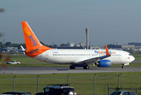 C-GOFW @ CYUL - Boeing 737-8BK [33018] (Sunwing Airlines) Montreal-Dorval Int'l~C 07/06/2012 - by Ray Barber
