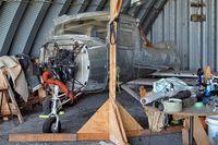 C-FGJP @ CST3 - Cessna 150L [150-73885] Saint-Lazare~C 07/06/2012. On rebuild. - by Ray Barber