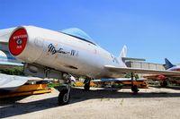 28 - Dassault Mystere IVA, preserved at les amis de la 5ème escadre Museum, Orange - by Yves-Q