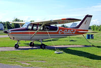 C-GACJ @ CST3 - Cessna 172B Skyhawk [172-47987] Saint-Lazare~C 07/06/2012 - by Ray Barber