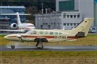 D-ITWL @ EDDR - Cessna 425 Conquest I, - by Jerzy Maciaszek