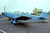G-AOGE @ EGKB - Percival P.34 Proctor IIIA [H.210] Biggin Hill~G 20/05/1979. From a slide.