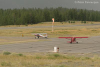 C-FGHF @ CYLI - Taxiing for take-off (left). With C-GHQM (right). - by Remi Farvacque
