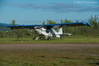 C-FJSX @ CYYD - Parked in east portion of airport with other private craft. - by Remi Farvacque