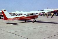 D-ECHE @ EG18 - R/Cessna F.172H Skyhawk [0733] Bassingbourn~G 27/05/1978 - by Ray Barber