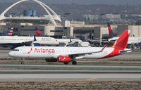 N693AV @ KLAX - Airbus A321